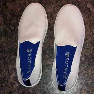Rothy's white sz 8 sneakers